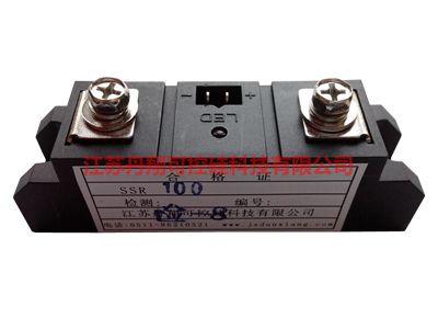 ssr一40可控硅接线图